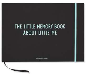 Design Letters Blue The Little Memory Book About Little Me
