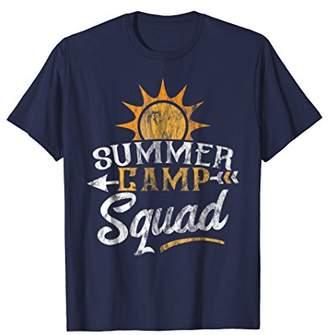 Summer Camp T Shirt Matching Summer Camp Squad Tee