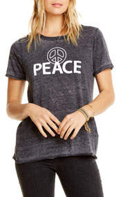 Peace Faded Graphic Tee