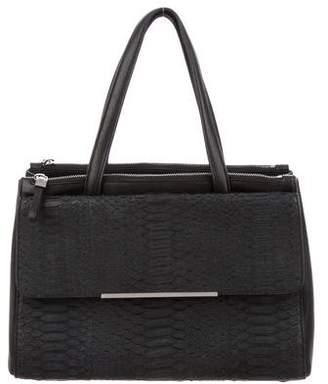 Devi Kroell Dual Zip Python Handle Bag
