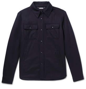 Ralph Lauren Purple Label Slim-Fit Wool-Blend Shirt Jacket