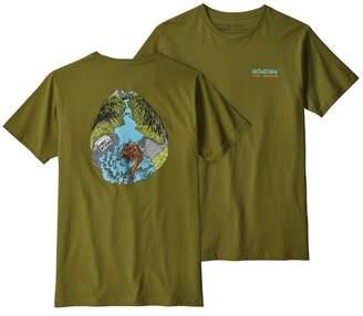 Patagonia Men's River Liberation Organic Cotton T-Shirt