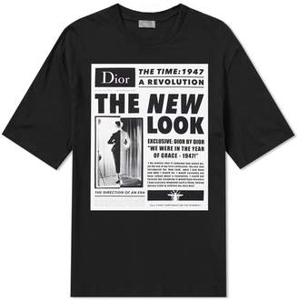 Christian Dior New Look Print Tee