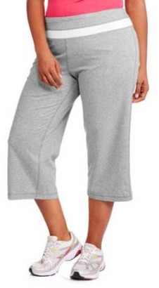 441a15cfe513 Danskin Women's Plus-Size Dri-More Capri Pants