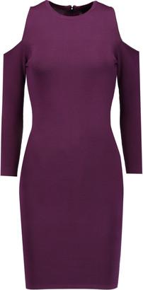 Line Clarke cutout stretch-knit mini dress $198 thestylecure.com