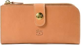 Il Bisonte Logo Engraved Wallet