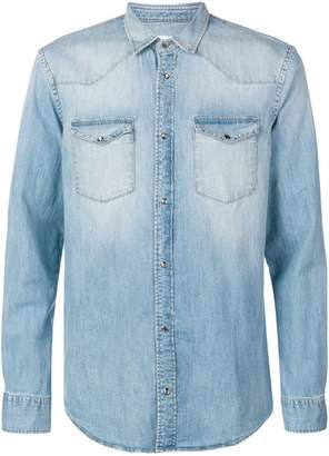 Dondup fitted denim shirt