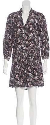 Veronica Beard Silk Mini Dress
