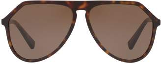 Dolce & Gabbana DG4341 Pilot Sunglasses
