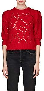 Etoile Isabel Marant Women's Sinead Distressed Sweater - Red