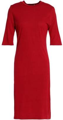 Love Moschino Embroidered Jersey Dress