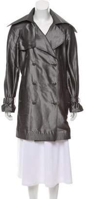 Chanel Silk Trench Coat