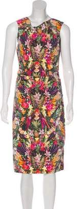 Nicole Miller Printed Sleeveless Dress