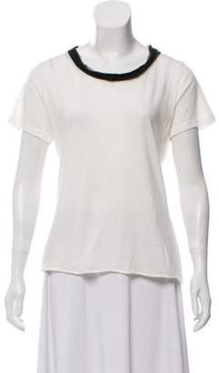 Lanvin Short Sleeve Knit Top w/ Tags