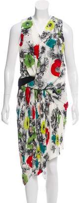 Doo.Ri Printed Silk Dress
