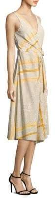 Derek Lam 10 Crosby Wrap Silk Dress