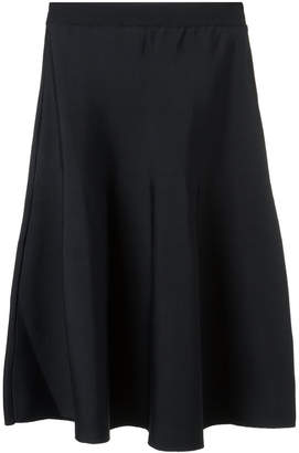 Egrey knit midi skirt