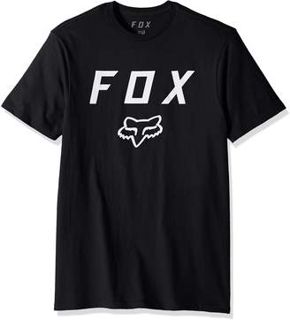 Fox Men's Standard Fit Legacy Logo Basic Short Sleeve T-Shirt