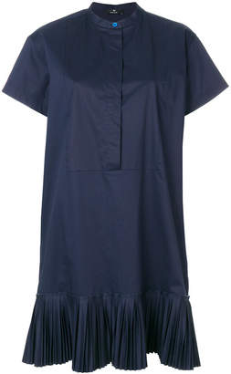Paul Smith pleated hem shirt dress