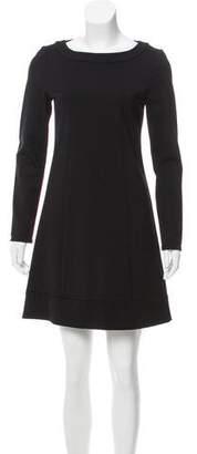 Patrizia Pepe Long Sleeve Mini Dress