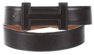 Hermes Reversible Leather H 32mm Belt Kit