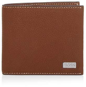 HUGO BOSS Leather Bi-Fold Wallet