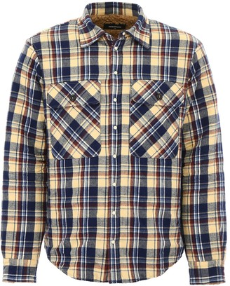 DSQUARED2 Shirt With Faux Shearling
