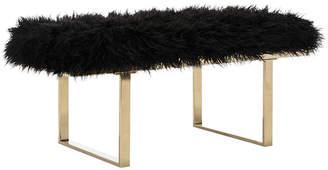 Safavieh Maia Faux Sheepskin Bench