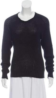 Etoile Isabel Marant Long Sleeve Open Knit Sweater