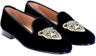 Stubbs and Wootton Cat Velvet Slippers