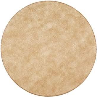 Uppercut Caviar Round Placemat