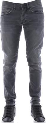 Dondup Ripped Slim Fit Jeans