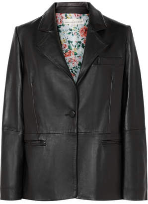 Golden Goose Ermada Leather Blazer - Black