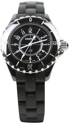 Chanel Black Ceramic Watches