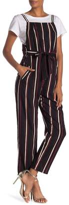 Style Rack Striped Square Neck Jumpsuit