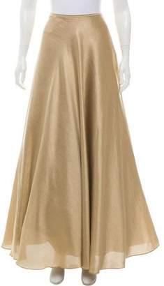 Lafayette 148 Metallic Evening Maxi Skirt
