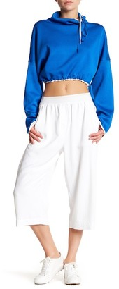 DKNY Wide Leg Cropped Pant $198 thestylecure.com