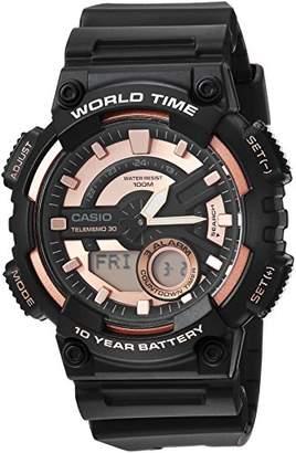 Casio Men's 'Telememo' Quartz Resin Casual Watch