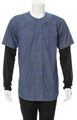 Rochambeau Layered Button-Up Shirt
