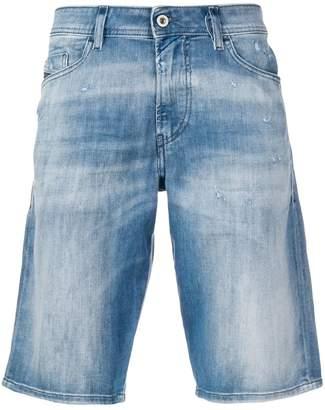 Diesel slim-fit bleached shorts