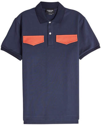 Calvin Klein Cotton Polo Shirt