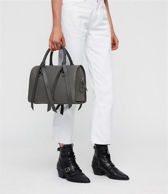 AllSaints Voltaire Leather Bowling Bag