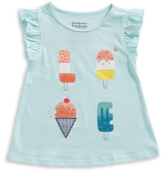 First Impressions Girl's Aloha Popsicle Cotton Top
