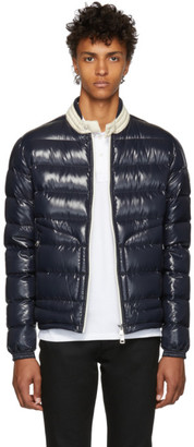 Moncler Navy Down Aubert Jacket