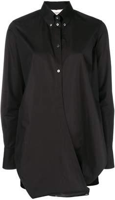 Ports 1961 criss-cross front shirt