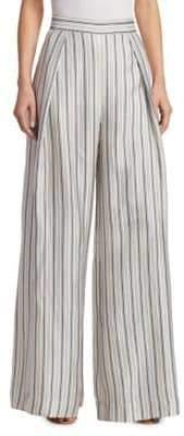 Zimmermann Striped Silk Pants