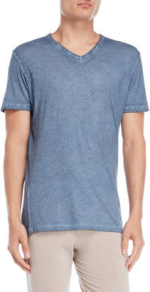 Majestic Filatures V-Neck Burnout Tee