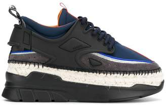 Kenzo platform low-top trainers