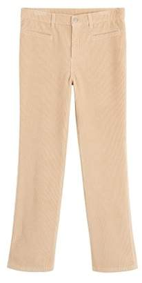 Violeta BY MANGO Flared corduroy trousers