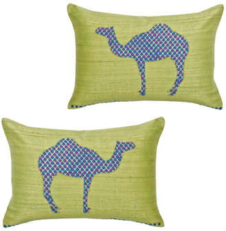 Monsoon And Beyond Desert Camels Cushion Covers Set